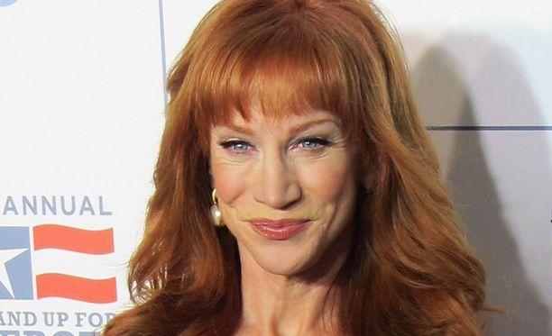 Kathy Griffin on saanut paljon lokaa niskaansa viime päivinä.