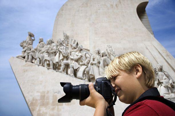 Löytöretkien muistomerkki on Lissabonin tunnetuimpia nähtävyyksiä.