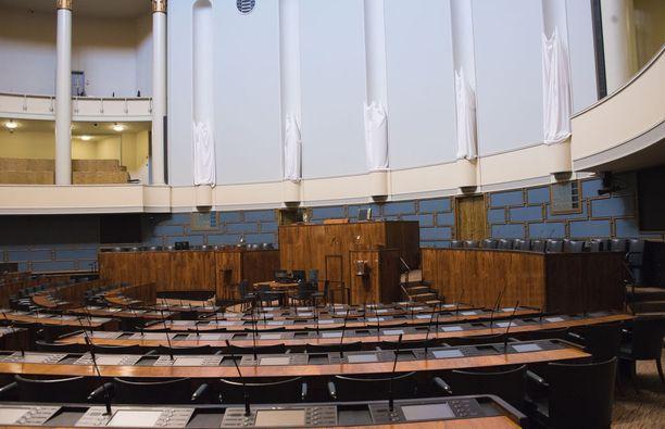 Iltalehti kävi tutustumassa Eduskuntataloon peruskorjauksen jälkeen.