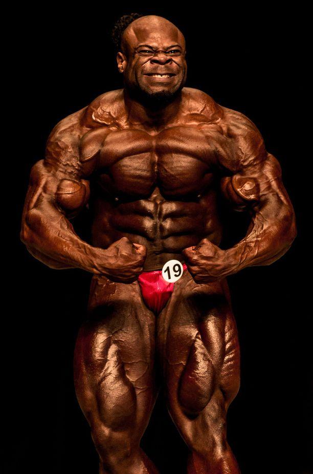 Kai Greenella on suurin lihasmassa huippukehonrakentajista.