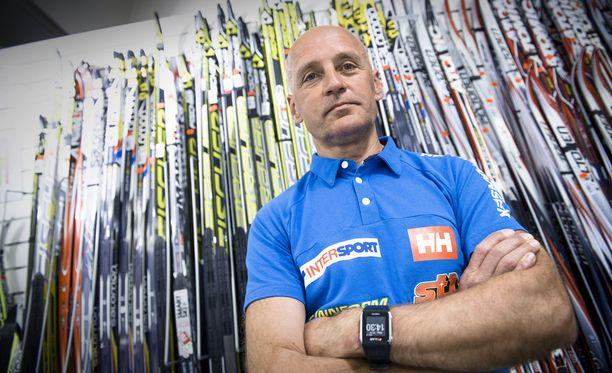 Virolainen Are Mets on toiminut Suomen suksihuoltajana vuodesta 2015 lähtien.