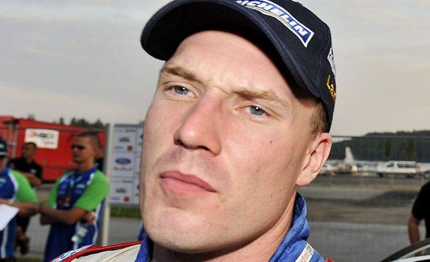 Jari-Matti Latvala lähtee toiveikkain mielin Australian MM-ralliin.