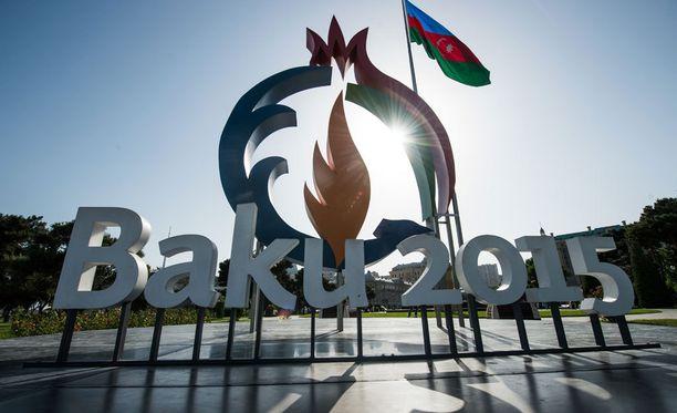 Baku isännöi ensimmäisiä Euroopan kisoja.