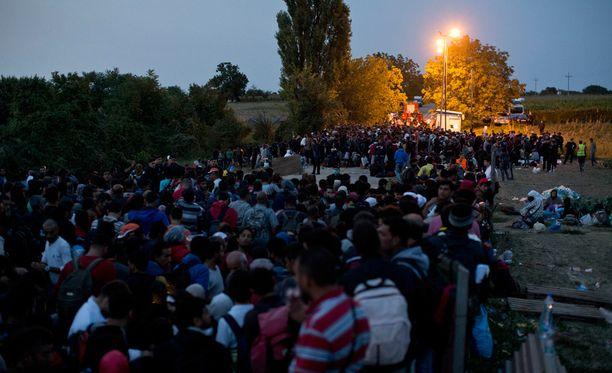 Pakolaiskriisi 2021