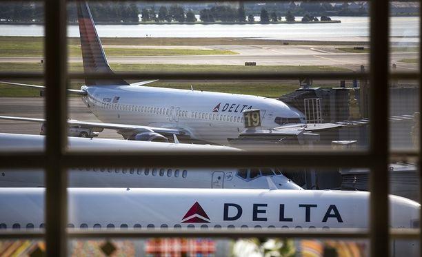 Delta Airlines on kertonut tutkivansa tapauksen.