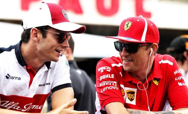 Charles Leclercin uskotaan jatkavan Kimi Räikkösen työtä Ferrarilla ensi kaudella.