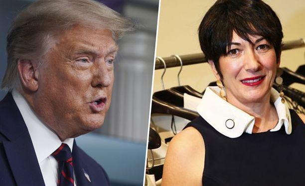 Presidentti Donald Trump antoi kommenttinsa koskien Ghislaine Maxwellia tiistaina järjestetyssä Valkoisen talon koronaviruskatsauksessa.