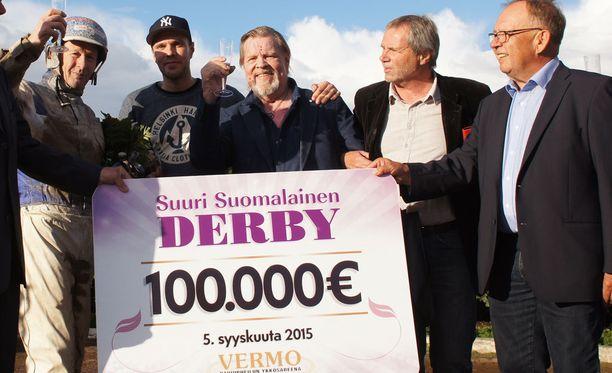 Derby-voitosta moni hevosenomistaja haaveilee. Vesku Loirille siitä tuli totta.