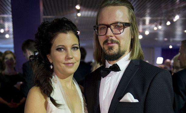 Teija Stormi ja Jukka Poika vuonna 2013.