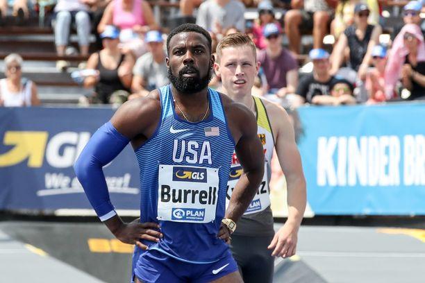 Cameron Burrell vuonna 2019.