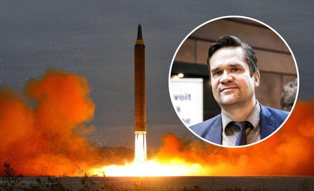 Ulkopoliittisen instituutin ohjelmajohtaja Mika Aaltola uskoo, että Pohjois-Korean ensisijainen tarkoitus on raivata tietä neuvottelupöytään Yhdysvaltain ja Etelä-Korean kanssa.