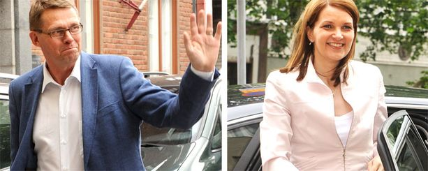 HEI HEI! Matti Vanhanen jättää pääministerin paikan lähes tasan seitsemän vuoden jälkeen. Tilalle nousevasta Mari Kiviniemestä tulee Suomen toinen naispääministeri.