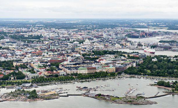 Öljyä pääsi leviämään Merisatamanrannan ja Liuskasaaren väliselle alueelle (arkistokuva).