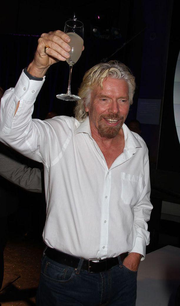 Richard Branson on tunnettu luovasta hulluudestaan.