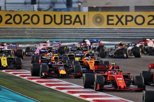 F1-kuskit eivät ole päässeet kisaamaan kaudella 2020.