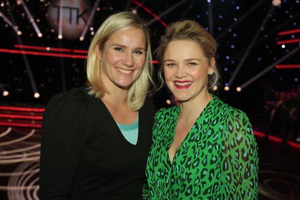 Sekä Laura Malmivaara että Anna-Maija Tuokko ovat tuttuja myös TTK-parketilta.