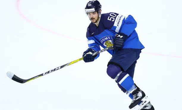Juhamatti Aaltonen syötti Suomen ainoan maalin.