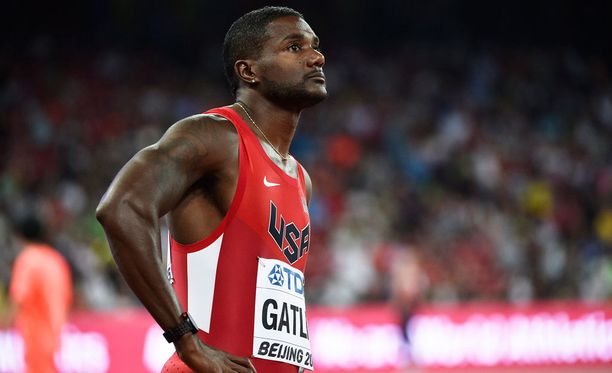 Justin Gatlinin bravuurimatka eli 100 metriä on yksi MM-kisojen seuratuimpia lajeja.
