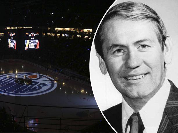 Entinen Edmonton-valmentaja John Muckler on poissa.