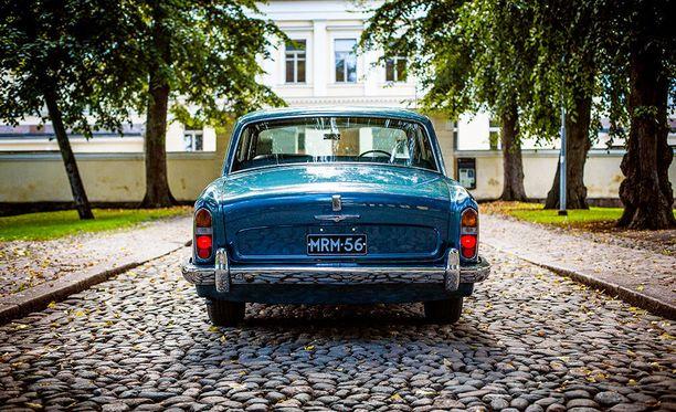 Rolls-Royce Silver Shadow:ssa on keskuslukitus.