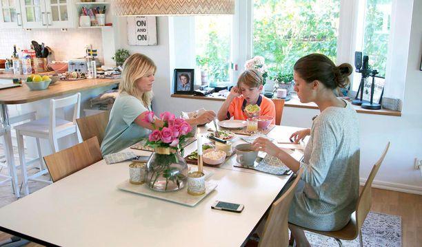 Pernillan perheen koti sijaitsee Lidingön kunnassa aivan Tukholman tuntumassa.