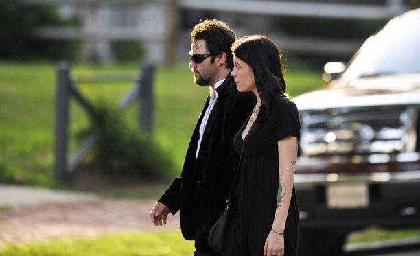 Bam Margera ja vaimo Melissa Rothstein.
