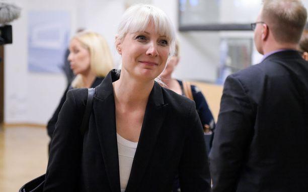 Laura Huhtasaari on ensimmäisen kauden kansanedustaja.