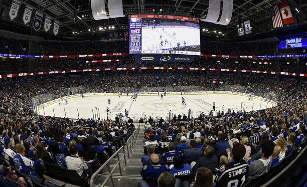 Mitä samaa sukunimeä neljä suomalaista NHL-pelaajaa on kantanut?