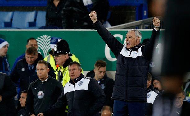 Claudio Ranieri on piiskannut Leicesterin hurjaan lentoon.