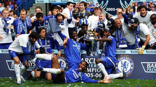Chelsea varmisti mestaruuden tutun takuuvarmaan tyyliinsä.
