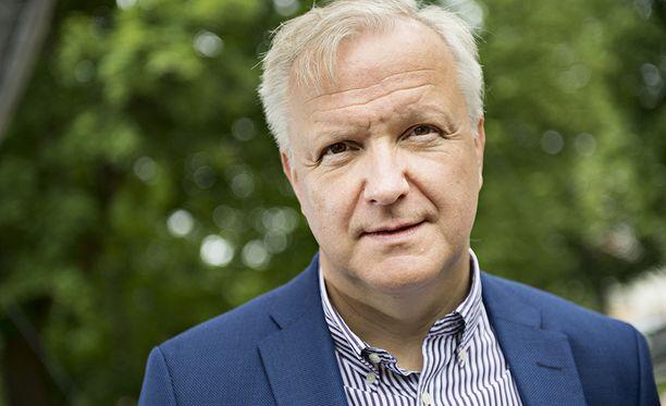 Elinkeinoministeri Olli Rehn valittiin vuonna 2016 Suomen Pankin johtokuntaan.