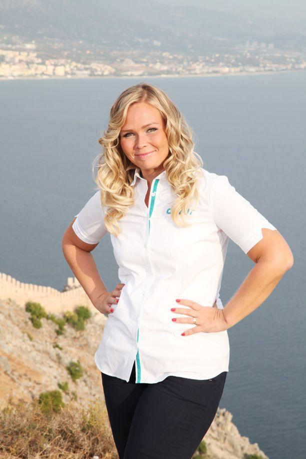 Riina ajatteli, että viettää Turkissa muutaman kauden, mutta matka venyi kahdeksan vuoden mittaiseksi. Riina toimi sekä matkaoppaana että matkatoimiston esimiehenä.