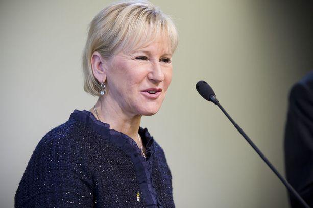 Ulkoministeri Margot Wahlström.