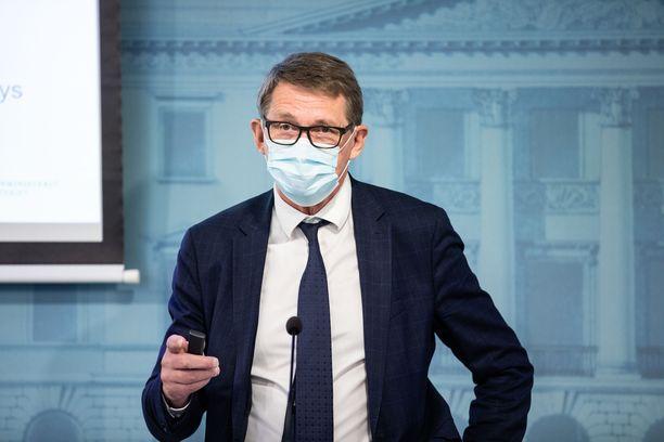 Matti Vanhanen on toiminut Suomen kestävän kasvun työryhmän puheenjohtajana.
