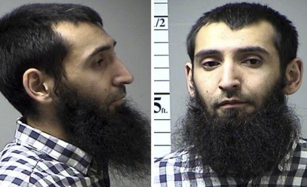 Sayfullo Saipov pidätettiin viime vuonna Missourissa liikennerikkomuksen vuoksi.