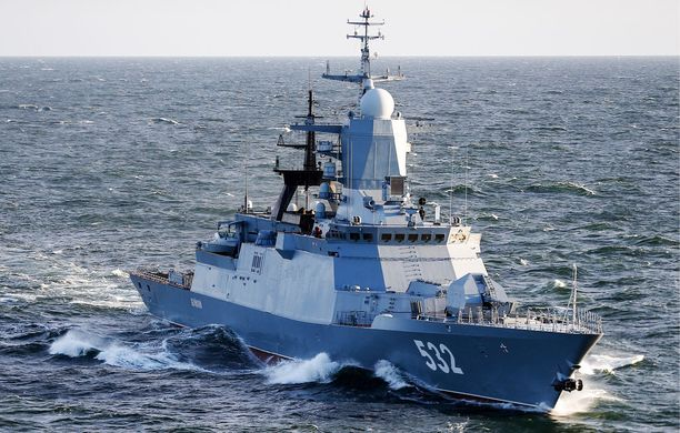 Heinäkuussa Venäjä harjoitteli itämerellä yhdessä Kiinan kanssa.