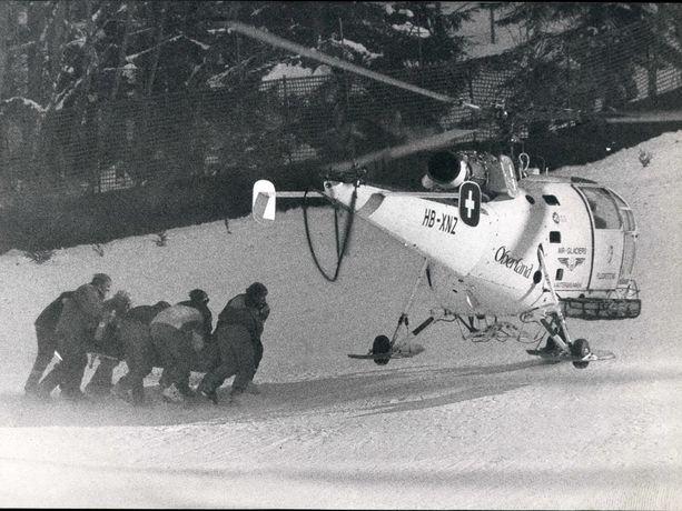 Gernot Reinstadler kiidätettiin helikopterilla sairaalaan, mutta lääkärit eivät onnistuneet pelastamaan laskijalupausta.
