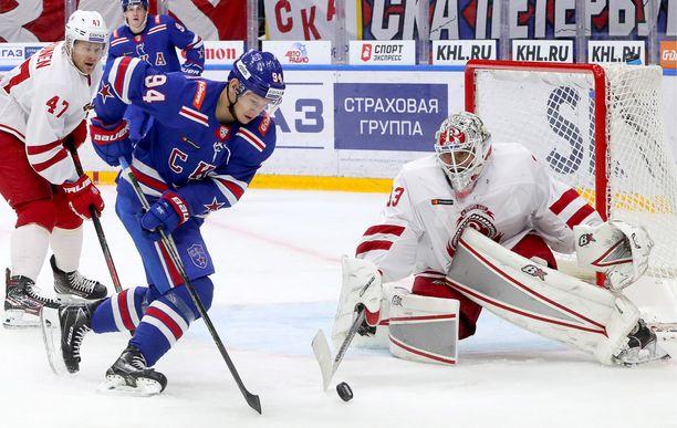 SKA-hyökkääjä Aleksandr Barabanov siirtyy NHL-kaukaloihin.