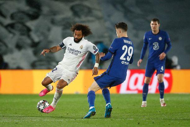 Real Madrid ja Chelsea taistelevat finaalipaikasta.