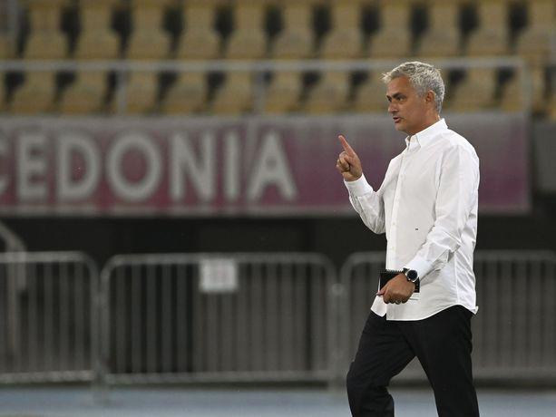 Ei muuten käytetä näitä maaleja pelissä, totesi José Mourinho torstaina Skopjessa.