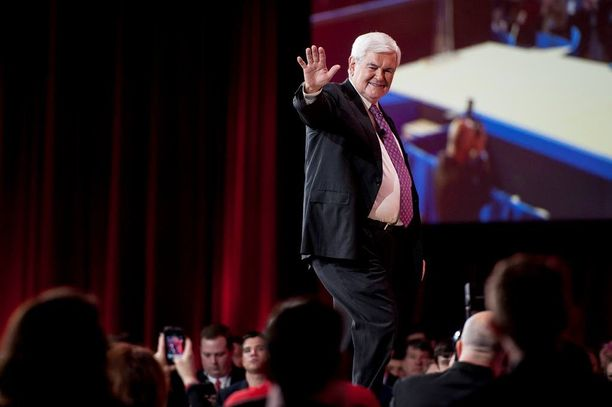 Newt Gingrich on Yhdysvaltain kongressin entinen puhemies.