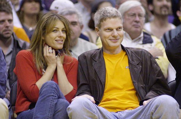 Elizabeth Hurleyllä ja Steve Bingillä on yhteinen poika Damian.