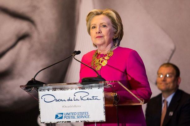 Hillary Clinton kuvattuna helmikuussa New Yorkissa.