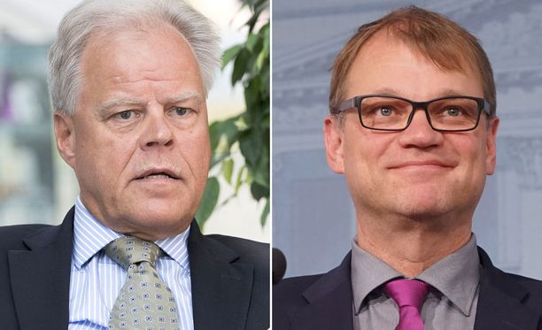 Jukon Olli Luukkainen ja pääministeri Juha Sipilä (kesk) näyttävät olevan eri mieltä siitäkin, onko kikystä ylipäätään kiistaa.