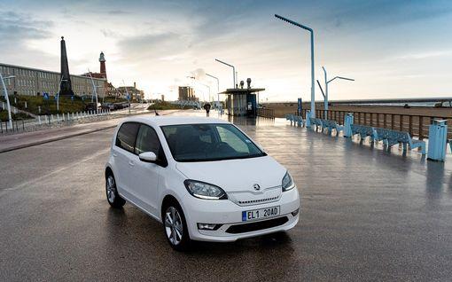 Kiilaako Skoda CITIGOe Suomen edullisimmaksi sähköautoksi? Käyttökulut eivät ainakaan päätä huimaa