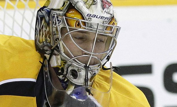 Pekka Rinne nousi NHL:n voittotilaston kärkeen.
