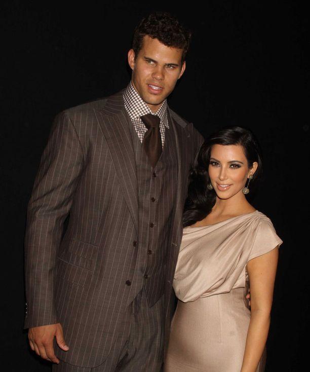 Kim Kardashian ja Kris Humphries olivat kuvattu pari.