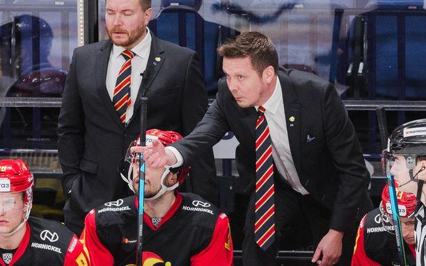 Lauri Marjamäki ei vielä tiedä, millaista on valmentaa KHL:n pudotuspelien toisella kierroksella.