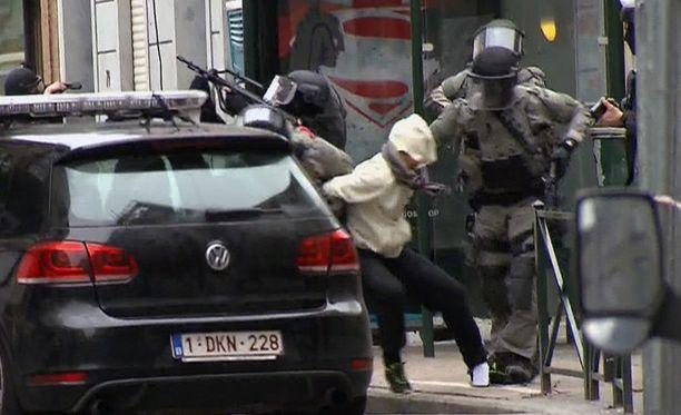 Salah Abdeslam pidätettiin Brysselissä reilut kaksi viikkoa sitten.