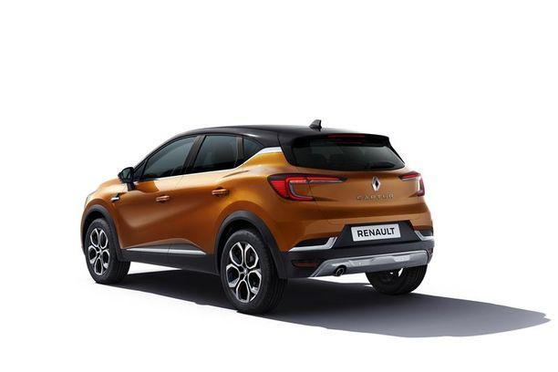 Edessä että takana on alleajosuojat ja kyljet on paremmin suojattu. Päiväajovaloissa ja takavaloissa on Renaultin tuttu C-kuvio.